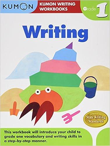 Grade 1 Writing (Kumon Writing Workbooks): Kumon Publishing ...