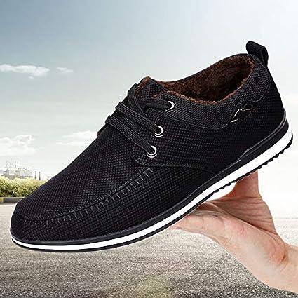 8c77eb69d403c LOVDRAM Zapatos para Hombre Zapatos Casuales De Negocios De Otoño E  Invierno para Hombres Zapatos De