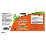NOW Foods – Green Black Walnut Wormwood Complex (60mL) – 2 oz For Sale