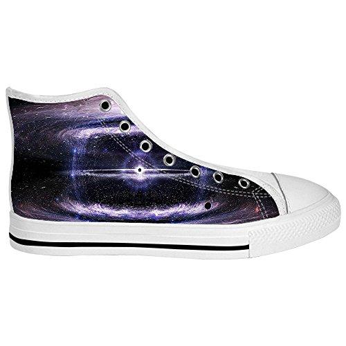 Custom Universum Platte Mens Canvas shoes Schuhe Lace-up High-top Sneakers Segeltuchschuhe Leinwand-Schuh-Turnschuhe B