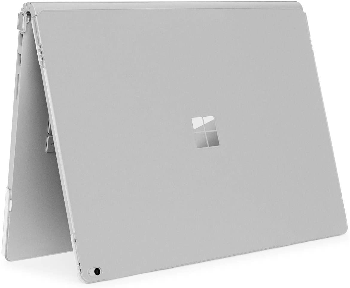iPearl mCover Hard Shell Case for 13.5-inch Microsoft Surface Book Computer (Clear)