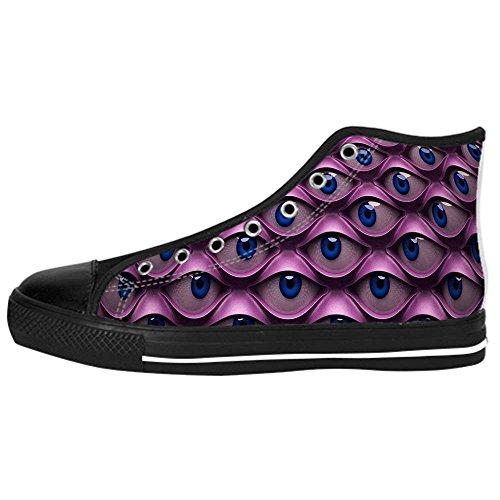 Dalliy augen muster Mens Canvas shoes Schuhe Lace-up High-top Sneakers Segeltuchschuhe Leinwand-Schuh-Turnschuhe E