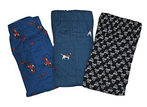 GAP Mens Printed Boxers 3-Pairs Boxer Shorts (XL X- Large) (Cow Girls, Skulls-Crossbones, (Gap Girls Shorts)