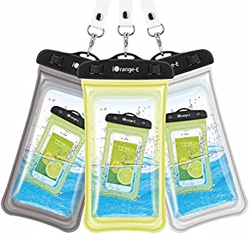 3-Pack iOrange-E Universal Waterproof Cell Phone Case