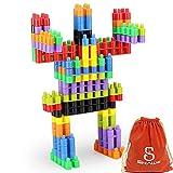 SHAWE-100-PC-Interlocking-Building-Set-Fine-Motor-Skills-Children-Imaginations-Run-Wild-Build-Unlimited-Shapes-Safe-Kids-Material