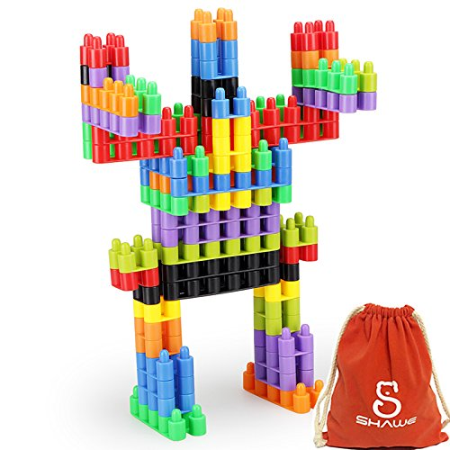 SHAWE 100 PC Interlocking Building Set -Fine Motor
