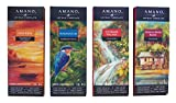 Amano Artisan Dark Chocolate Bar Variety Quartet - Dos Rios, Madagascar, Ocumare, & Guayas River Basin - 4 Bars, 3 Ounces Per Bar - Academy of Chocolate Award Winners!