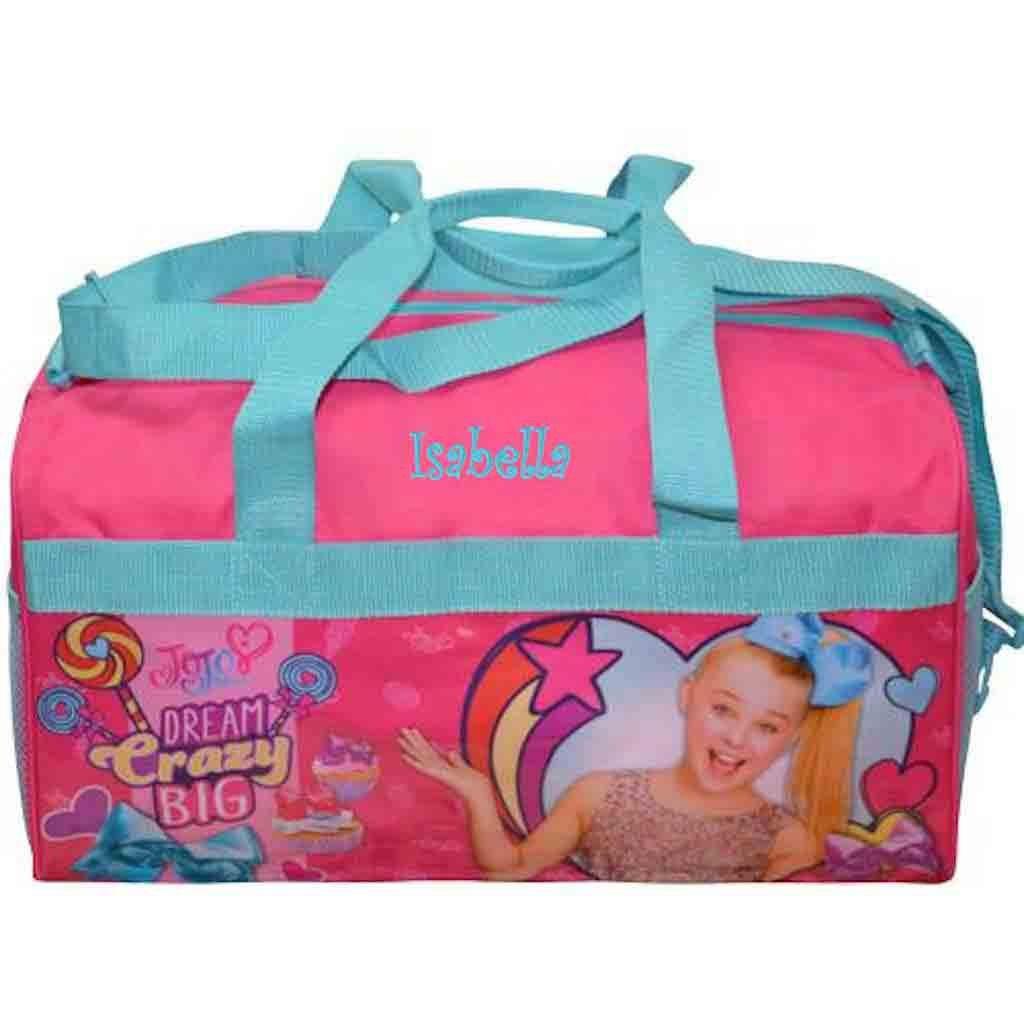 Personalized Licensed Kids Travel Duffel Bag - 18'' (JoJo Siwa)