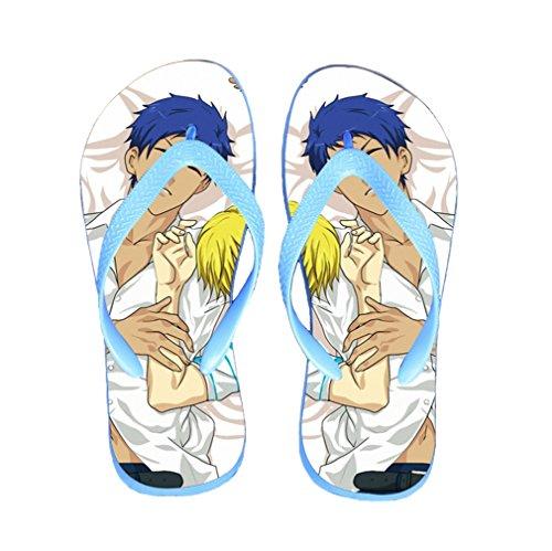 Bromeo Kuroko No Basuke Anime Unisex Flip Flops Chanclas 425