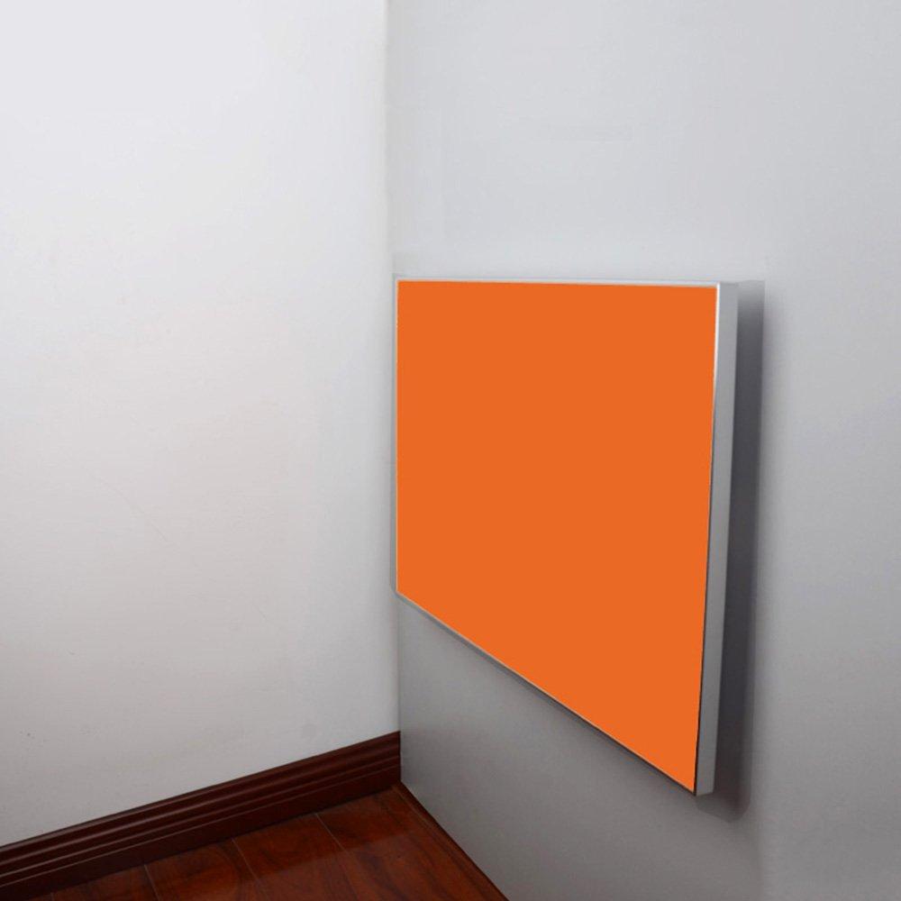 ZZHF 折りたたみ式テーブルダイニングテーブル壁掛けテーブルテーブルによる壁5色利用可能サイズオプション デスク ( 色 : A , サイズ さいず : 80*50cm ) B078X5C8FL 80*50cm|A A 80*50cm