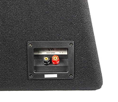 VM Audio Dual 10'' Elux Sealed 4200 Watt Car Stereo Subwoofer Box with Amp by VM Audio (Image #3)