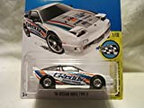 Hot Wheels CUSTOM '96 NISSAN 180SX Treasure Hunt Real Riders Rubber Rubber Wheels Collectible Die Cast Model Car 1:64 Scale