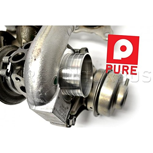 Amazon.com: Pure Turbos BMW N54 Stage 2 Turbocharger upgrade (Without Install Kit, W/ 2