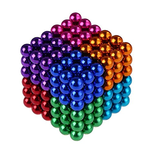 5MM Magnetic building block ball cube Magnet Sculpture Stress Relief for Desk fridge
