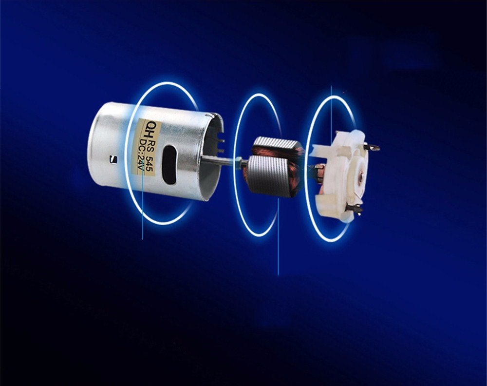 24V WanJiaMenShop Petit Ventilateur de 8 Pouces pour la Voiture Ventilateur Grand Vent Ventilateur Fort int/érieur
