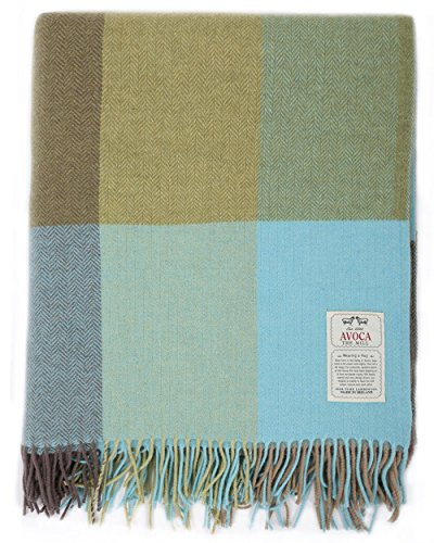 "Avoca Throw - Mahon (56"" x 72"") Made in Ireland"