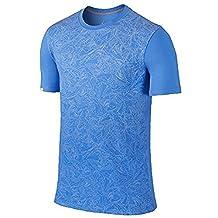 Nike Men's Air Jordan Retro 20 Dub Zero Laser Top T-Shirt Small Legend Blue