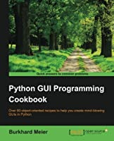 Python GUI Programming Cookbook Front Cover