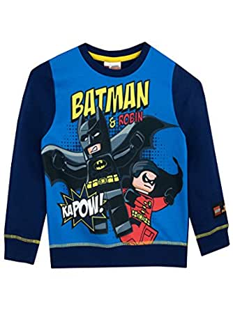 LEGO Batman Boys' Batman Sweatshirt Size 10