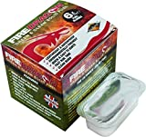 BCB Dragon and Clean Solid Fuel Fire Lighting - White, 6 x 27 g by Bcb