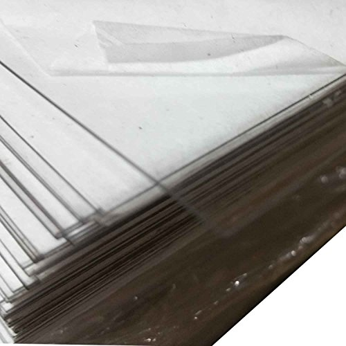 "Lexan 8040 Gloss Film Sheet .020"" x 14.5"" x 19"" (100 Bulk..."