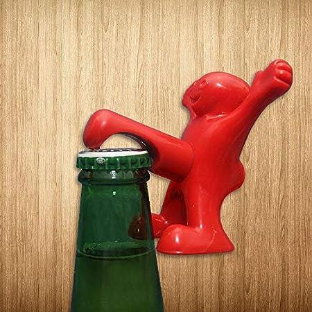 IUOU 1 Pieza Novedad Creativa abridor tapón de Vino Botella de Vino sacacorchos Herramientas de Bar Regalos de Cocina para Navidad y Halloween