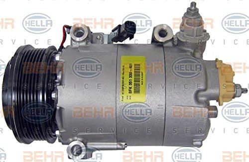 BEHR HELLA SERVICE 8FK 351 339-401 *** PREMIUM LINE *** Compresor, aire acondicionado: Amazon.es: Coche y moto