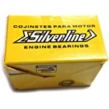 AA Performance Products Silver Line Main Bearings for Type 1 2 /& 3Steel Backed Size .080 Case//STD Crank//Thrust +2mm