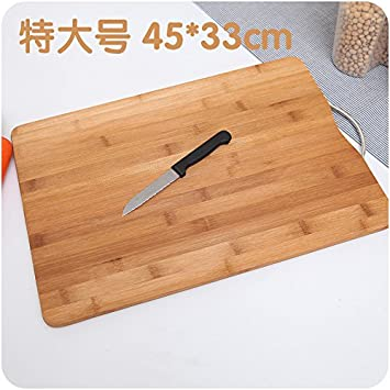 XXAICW Tabla de cortar rectangular durable de hogar corte junta corte  tablero fruta espesado versátil madera sólida placa en la cocina 6dacb0ae20b1