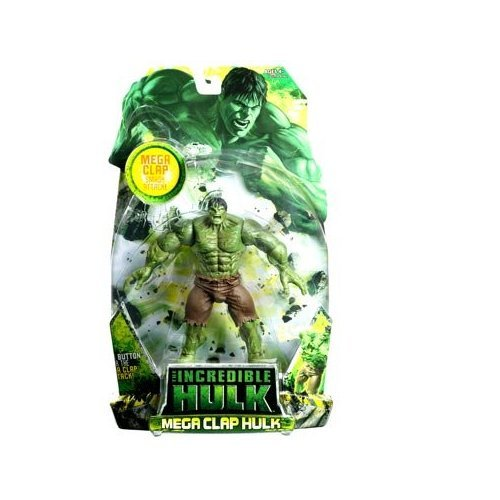Incredible Hulk Movie Action Figure Mega Clap Hulk