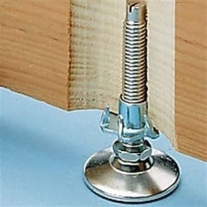 T Nut Cabinet Furniture Levelers 4 Furniture Legs