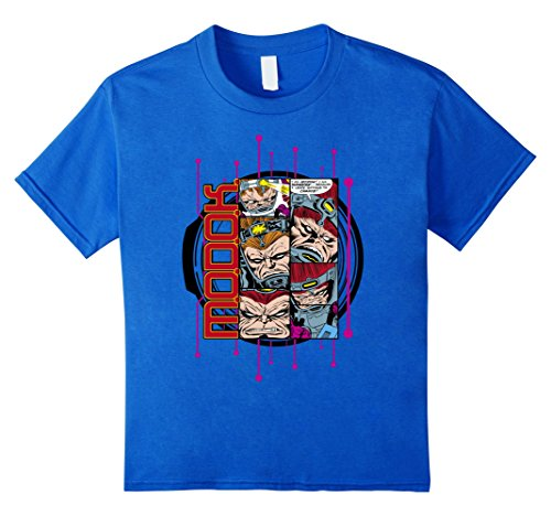 Marvel+Comics+Retro+Shirt Products : Marvel MODOK Retro Comic Collage Digital Profile T-Shirt