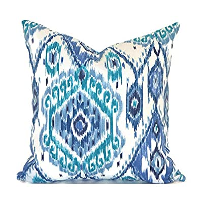 Flowershave357 Ikat Outdoor Pillows Outdoor Cushions Outdoor Pillow Covers Decorative Pillows Outdoor Cushion Covers Best Pillow OD Losani Pacific: Kitchen & Dining