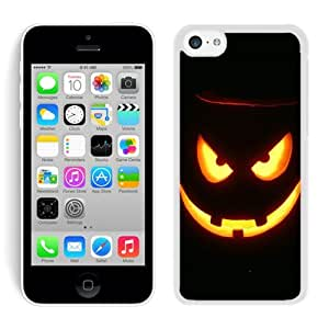 linJUN FENGSpecial Custom Made Iphone 5C TPU Rubber Protective Skin Halloween White iPhone 5C Case 1