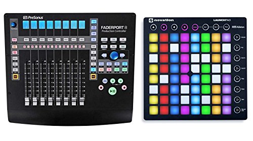Bus Recording Console 8 (PRESONUS FADERPORT 8 USB 8-Channel Mix Production DAW Controller+Launchpad S V2)
