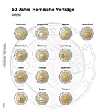 Lindner 1118-3 Illustrated page 2 EURO commemorative chronologically: Common Issue Treaty of Rome