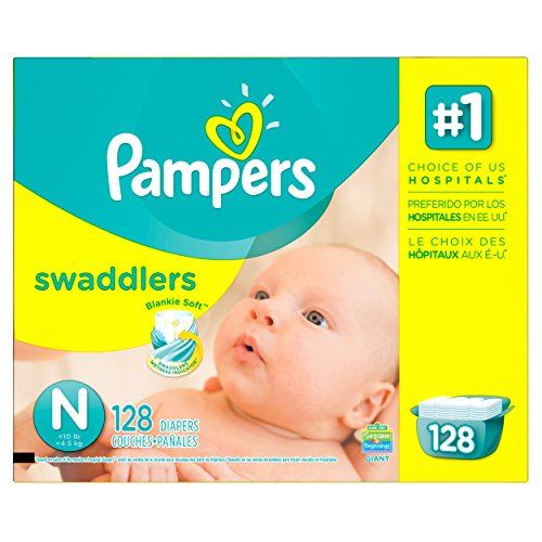 Pampers Swaddlers Diapers Giant Packaging product image