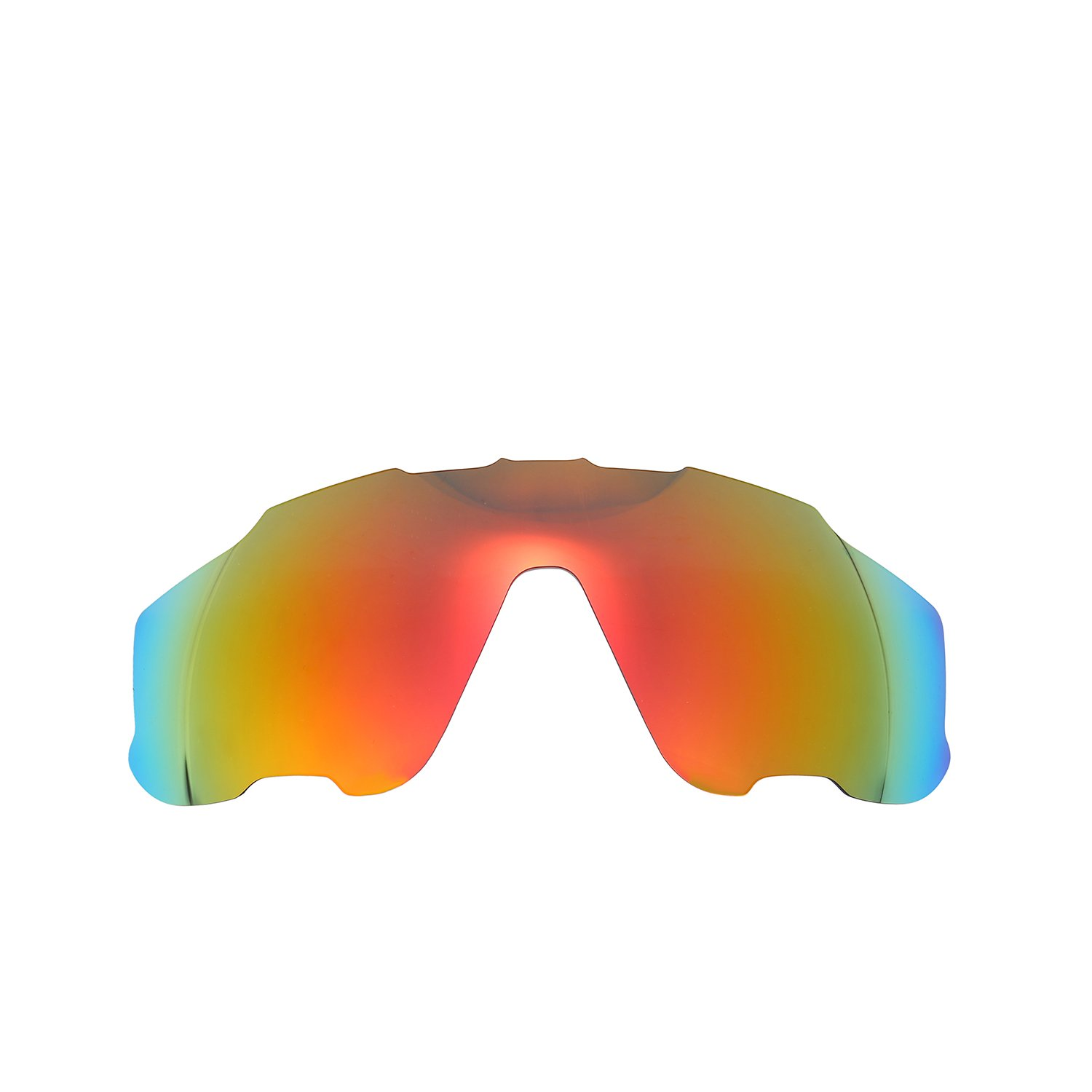b51ff88047 Amazon.com  Polarized Replacement Lenses for Oakley Jawbreaker Sunglasses  (Fire Red) NicelyFit  Clothing