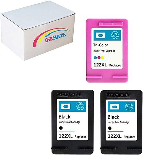 Amazon.com: inkmate 3 Pack (2 Negro y 1 color) 122 x l ...
