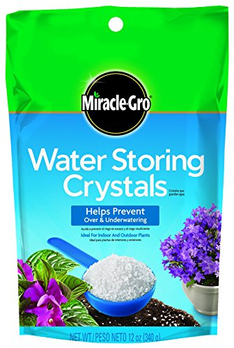 Miracle-Gro 1008311 Water Storing Crystals (5 Pack), 12 ()