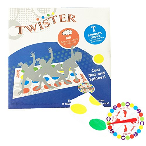 Galleon Classic Twister Ultimate Game Body Floor Game Family Kids