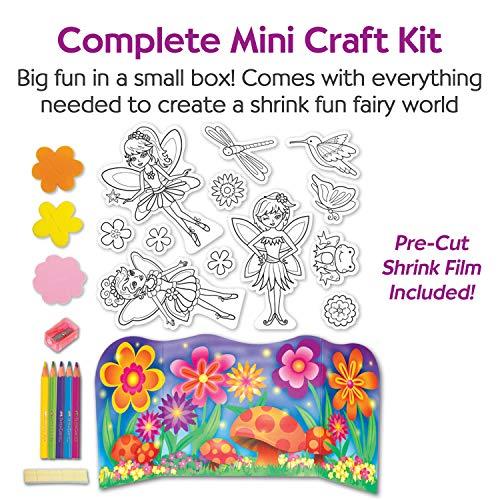 Creativity for Kids Shrink Fun Fairies - Shrink Plastic Activity Kit