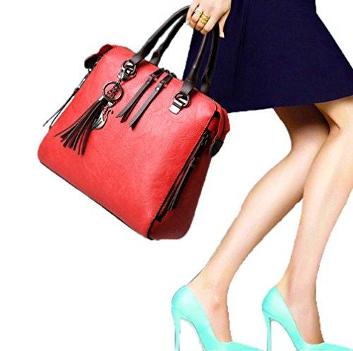 Main Bandoulière Sacs tout Pour Les Sacs Cuir Sacs ZM Sacs En Black à PU à à Fourre Femmes Main De Messenger Mode Femmes wCxFtZq