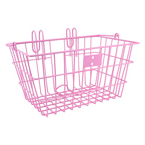 - Sunlite Wire Lift-Off Front Basket, Pink