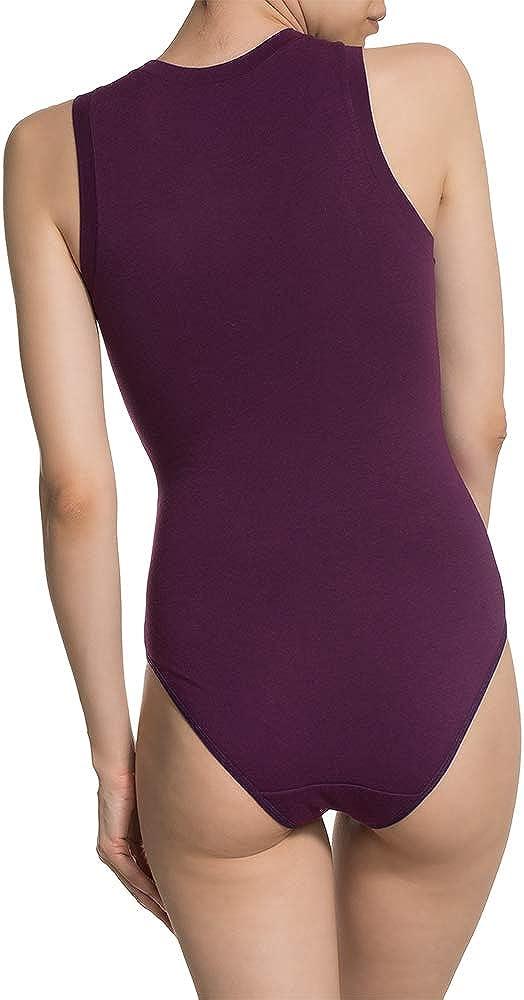 DoReMi Modal Coton Body sans Manches pour Femme