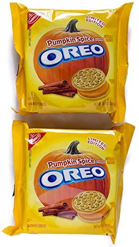 Pumpkin Spice Oreo Cookies 2-Pack