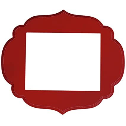 Amazon.com - Kennedy Picture Frame, Barn Red, 2x3 - Single Frames