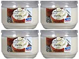 Mainstays 11.5oz Scented Candle, Vanilla 4-pack Review and Comparison