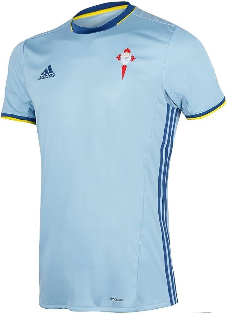 adidas 1ª Equipación Celta de Vigo Camiseta, Hombre, Azul (Azucla), 13-14 años: Amazon.es: Deportes y aire libre
