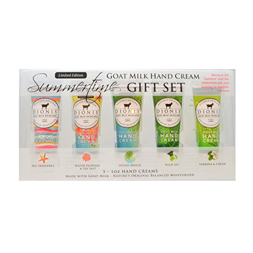Dionis Summertime Goat Milk Hand Cream Gift Set